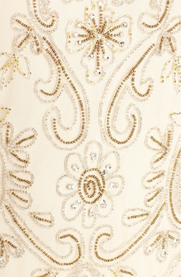 Embellished Art Deco Mother of the Bride Dress