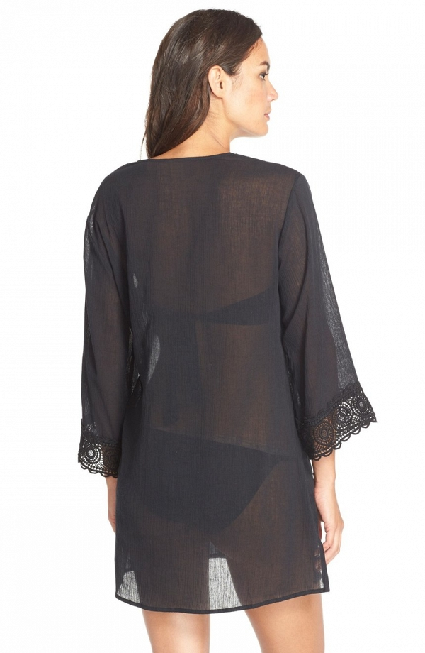 'Island Fare' V-Neck Cover-Up Tunic