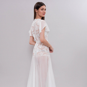 Vintage Bridal Robe