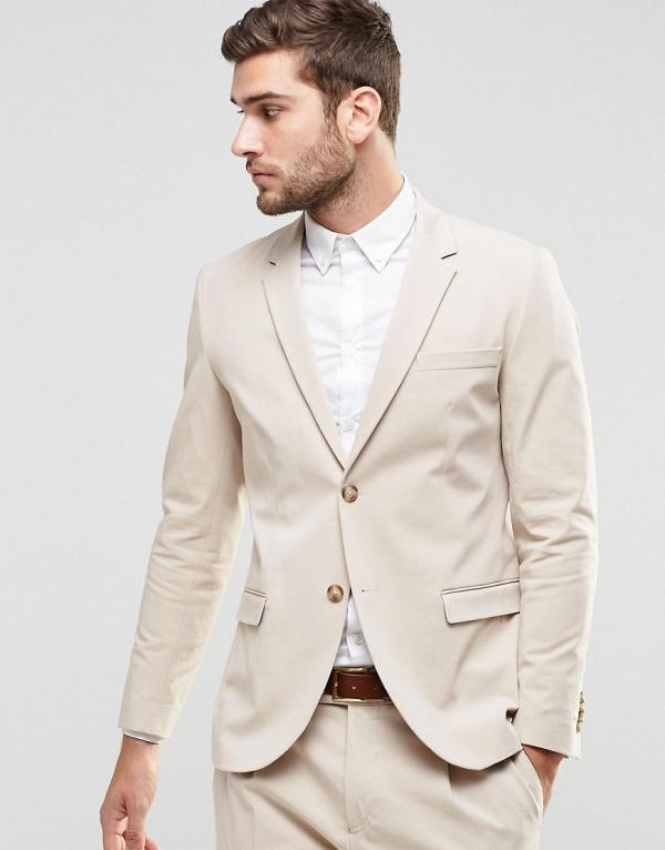 Jack & Jones Premium Summer Wedding Suit Jacket