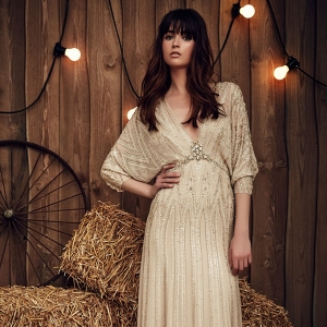 Boho Wedding Dress from Jenny Packham Spring 2017 Bridal Collection