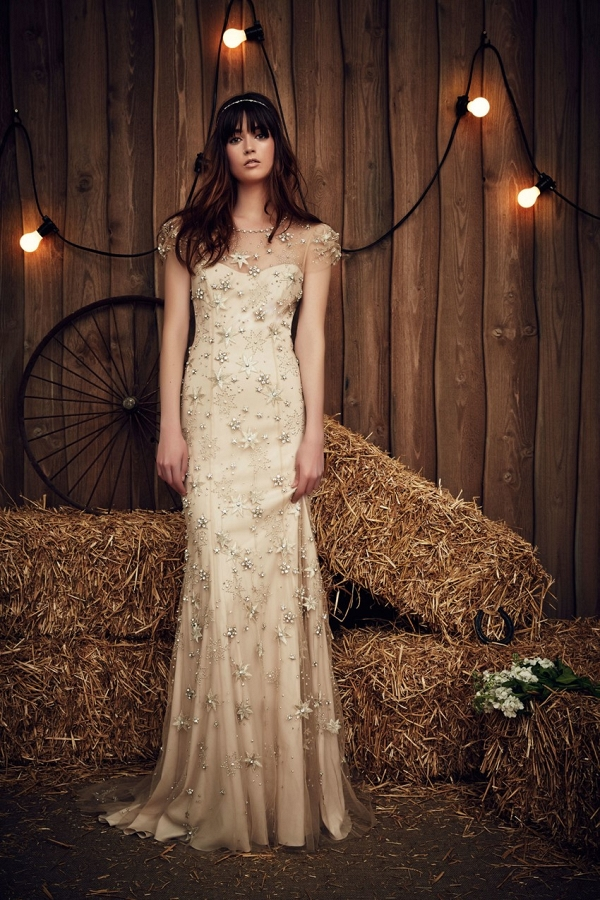 'Lucky' from Jenny Packham's Spring 2017 Bridal Collection
