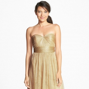 Jenny Yoo 'Annabelle' Convertible Tulle Bridesmaid Dress