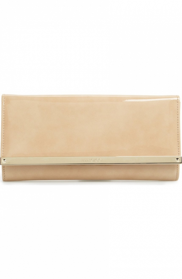 Jimmy Choo 'Milla' Patent Leather Wallet