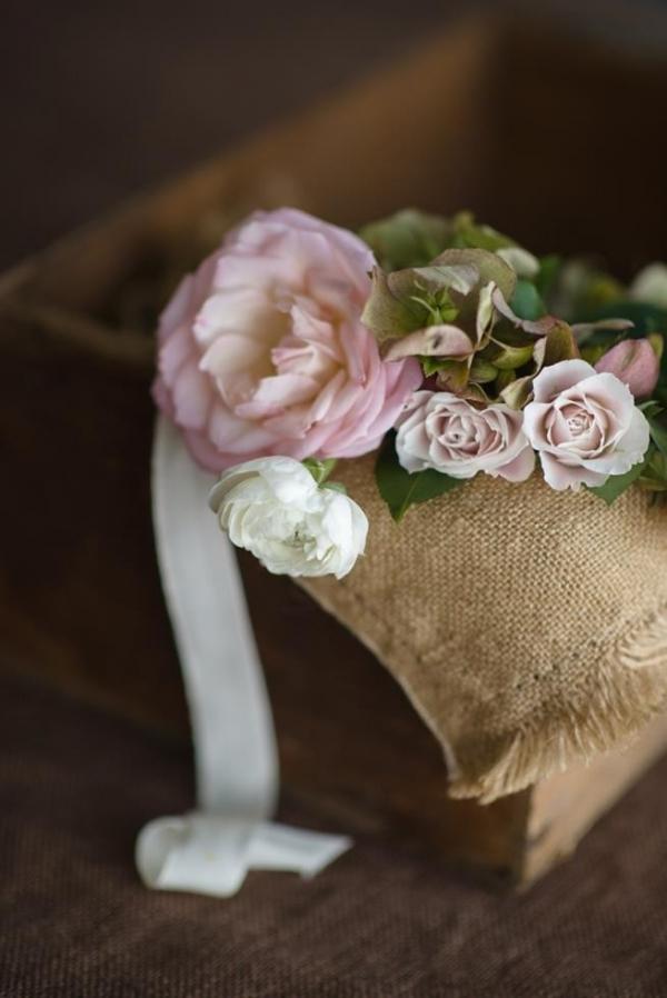 Pink Roses & Ribbon