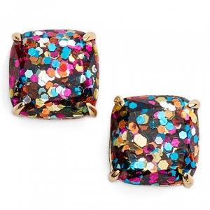 Kate Spade Mini Small Square Stud Earrings