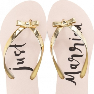 Kate Spade 'Just Married' Flip Flop