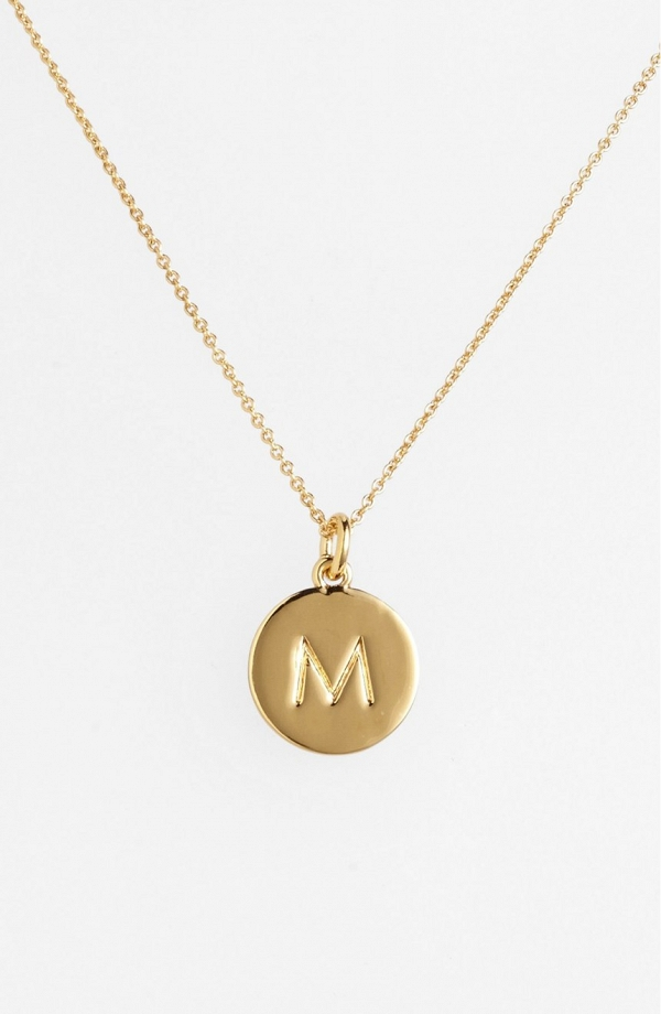 Kate Spade 'One in a Million' Initial Pendant Necklace
