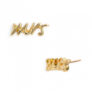 Kate Spade 'Say Yes - Mrs' Stud Earrings