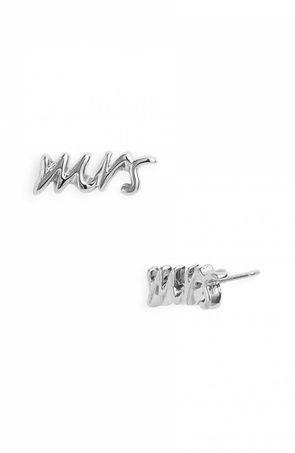 Kate Spade 'Mrs' Stud Earrings