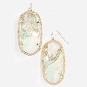 Kendra Scott 'Danielle - Large' Oval Statement Drop Earrings