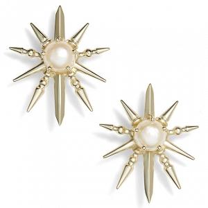 Kendra Scott 'Rogan' Pearl Stud Earrings
