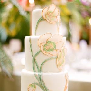 Art Nouveau cake