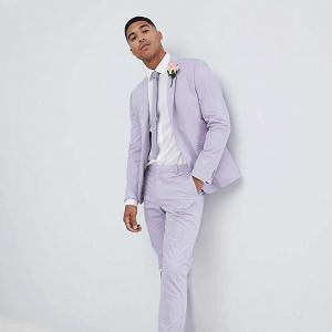 Purple Wedding Suit