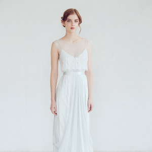 'Lili' Silk Wedding Dress