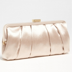 'Logan' Satin Clutch