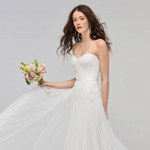 Willowby Lupine Strapless A-Line Wedding Dress