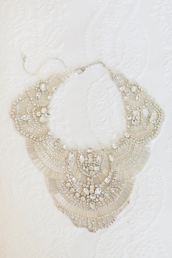 Luxury Crystal Couture Embroidered Necklace