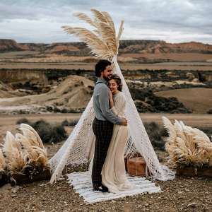 Macrame Wedding Tepee