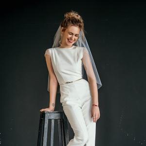 Makai Open Back Bridal Jumpsuit