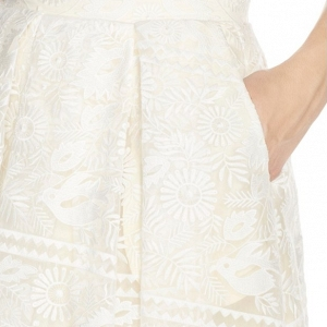 Marietta Lace Organza Skirt Pocket