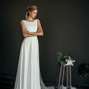 'Mele' Minimalist Wedding Dress