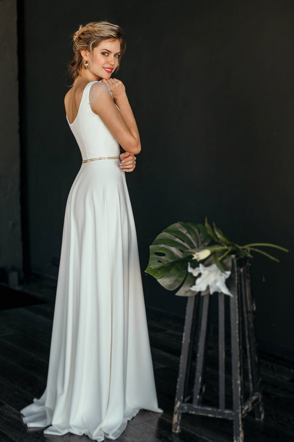 'Mele' Wedding Dress Back