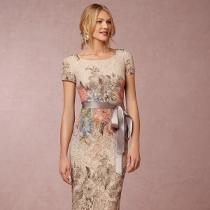 'Melinda' Floral Maxi Mother of the Bride Dress