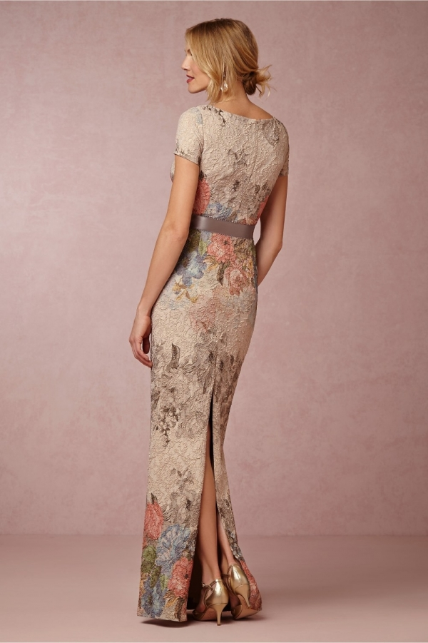 'Melinda' Floral Maxi Mother of the Bride Dress.