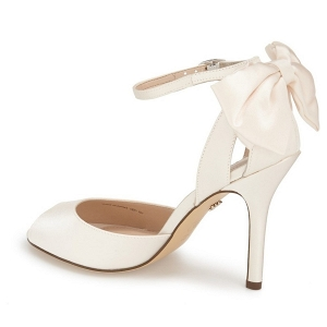 'Mileena' Bow Back Bridal Sandal