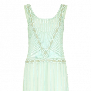Mint Gatsby Bridesmaid Dress