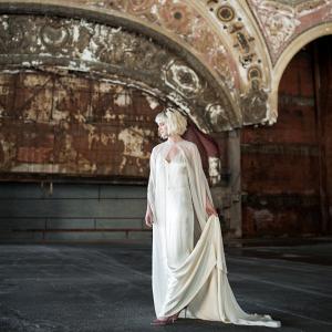 Art Nouveau Inspired Bride