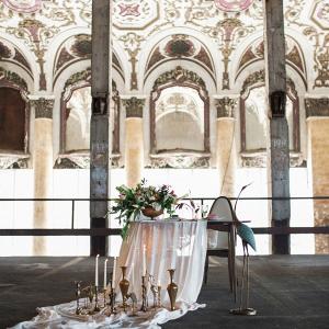 Industrial Art Nouveau Wedding