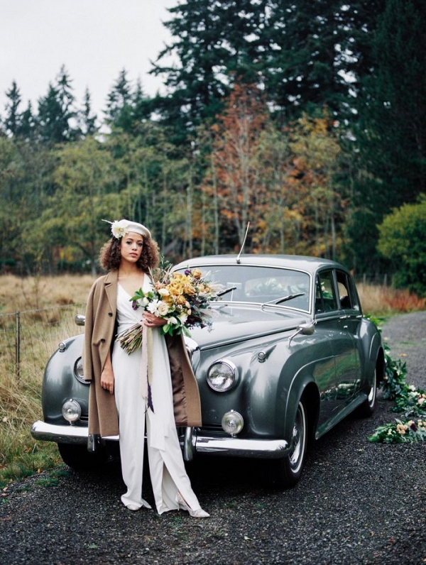 Bonnie & Clyde vintage wedding wedding inspiration