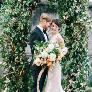 vintage Savannah wedding inspiration from Chic Vintage Brides