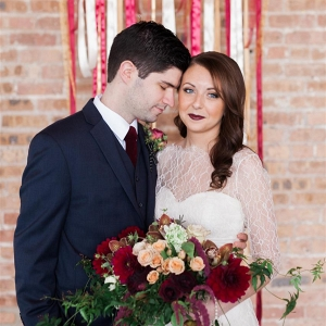 Rustic Marsala Wedding Inspiration