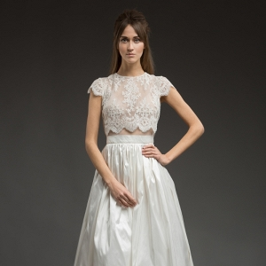 Tamara High Low Wedding Dress from Katya Katya Shehurina