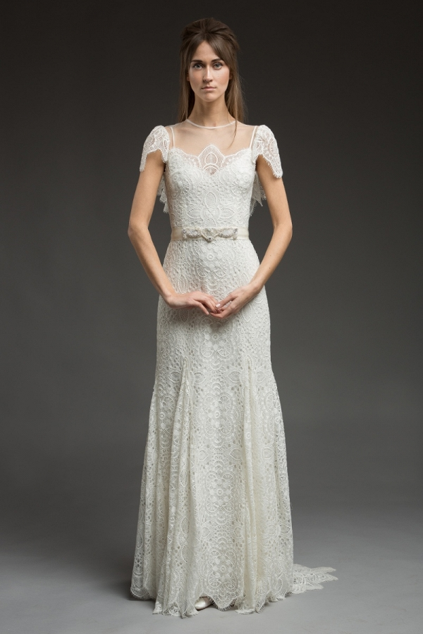 Corded Lace Wedding Dress - Paisley by Katya Katya Shehurina