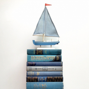 Nautical Vintage Books