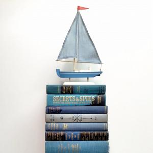Nautical Vintage Books