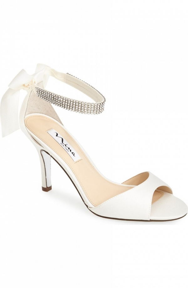 Nina 'Vinnie' Elegant Bridal Sandals