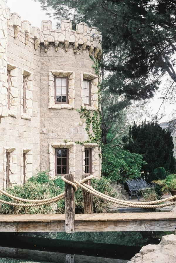Castle venue on Chic Vintage Brides
