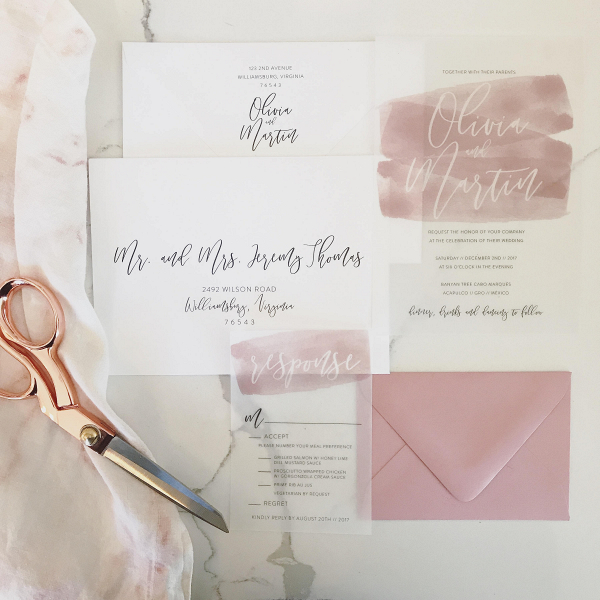 Olivia Wedding Invitation Suite