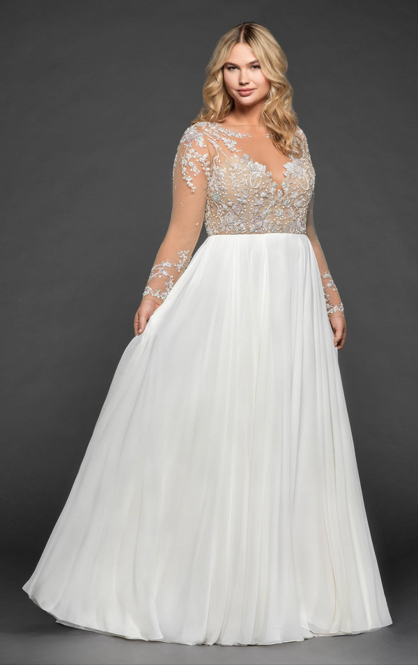Pascal Plus Size Bridal Gown by Hayley Paige