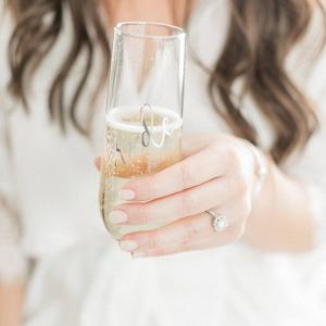 Bride Champagne Flutes