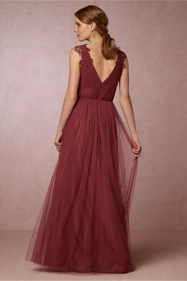 Pippa Maxi Tulle Dress Back Detail