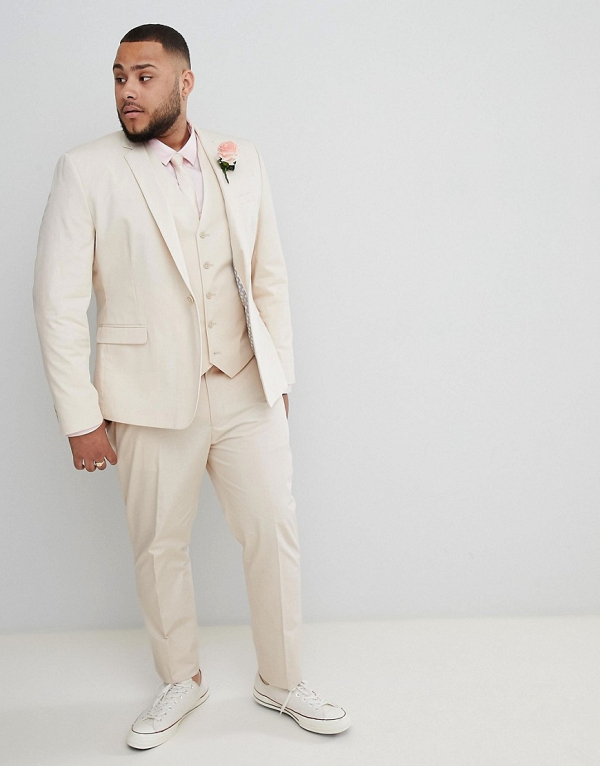Stone 3 Piece Groom's Suit