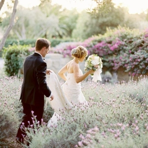 A Sea of Lavender and Love – Romantic Summer Wedding Inspiration in Shades of Lavender and Seafoam | Photography - Jose Villa