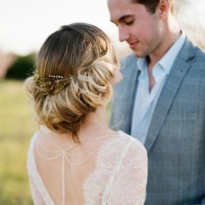 Romantic Bridal Updo