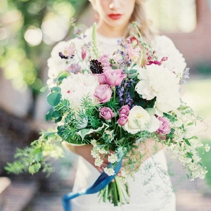 Romantic Wild Bridal Bouquet